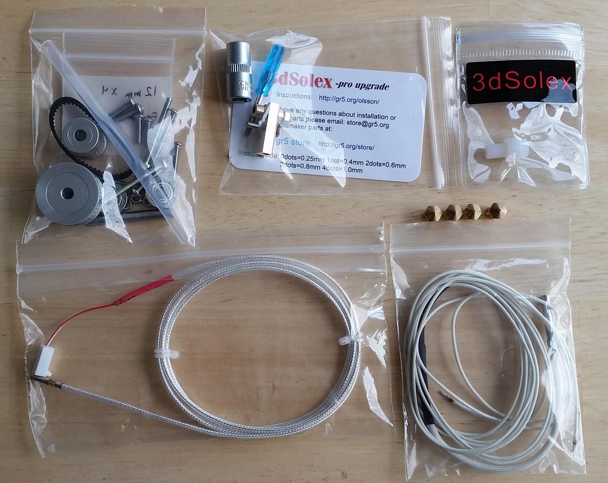 Ultimaker2 plus upgrade kit
