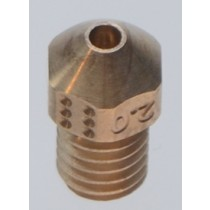 2.0mm matchless RACE nozzle for 3mm filament